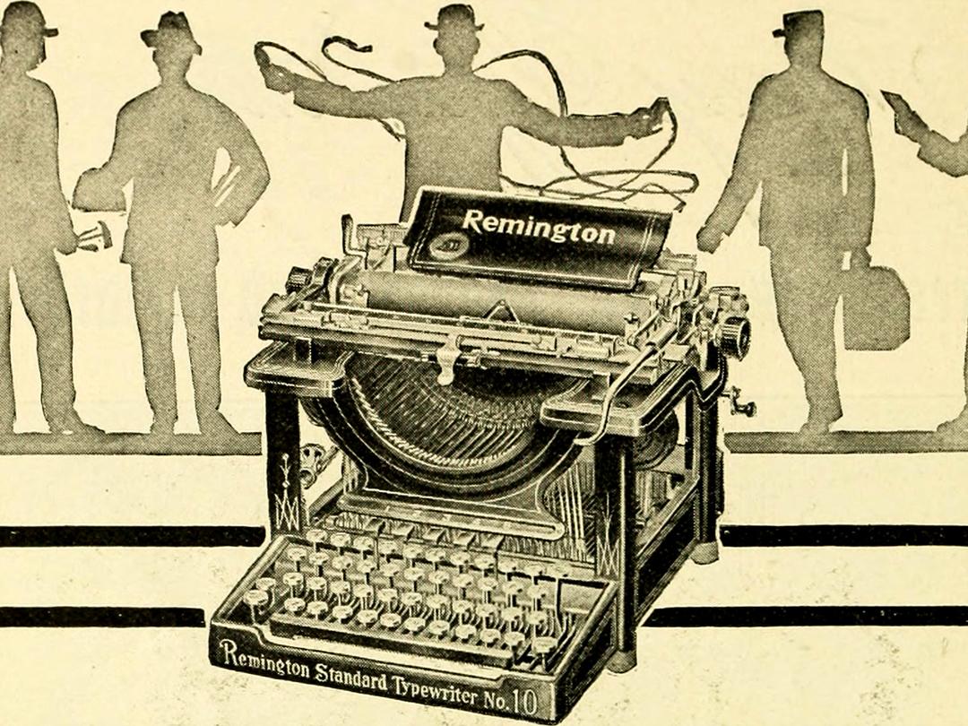 האות היא נצחית: מהו פונט של מכונת כתיבה?